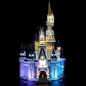 BRIKSMAX Kit di Illuminazione a LED per Lego Castello Disney , Compatibile con Il Modello Lego 71040 Mattoncini da… Lego Outlet LEGO