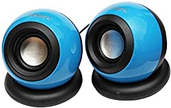 hiper song hs655 Portable Mobile/Tablet Speaker (Blue, 2.2 Channel)