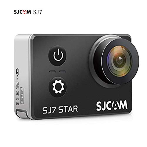 SJCAM SJ7 Star SJ7000 SJ7Star - 4K Action Cam, Action Camera WIFI, Sport Camera (2.0 pollici touch screen, 16MP, touchscreen, sensore Sony, WLAN, HDMI, impermeabile) Cambi di azione sportiva Camera Mini DVR - nero