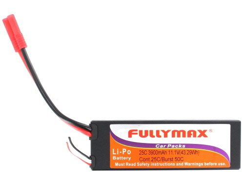 Redcat Racing Lipo Battery 11.1 V 3900 M Ah (Must Use Lipo Charger) Vehicle