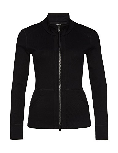 Marc Cain Essentials Damen Strickjacke +E3147J50 Schwarz (Black 900)