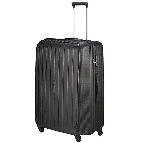 "Travelite Valise trolley ""Uptown"" avec 4 roues Taille L noir Koffer, 75 cm, 113 liters, Schwarz (Noir)"