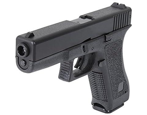 Glock 17 HFC HA-117 Airsoft Spring/Federdruck Pistole Schwarz, 0.5 Joules, no hop up, GRATIS 2000 BULLDOG BBS 0.20G