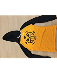 ONE PIECE cosplay costume one piece Trafalgar Law wind long-sleeved T-shirt parka M men's / women's (japan import)