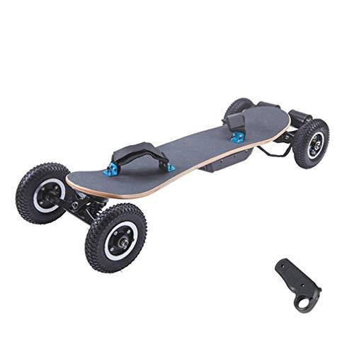 Elektro-Extremsport Skateboard, Off-Road Cruise Roller Auto mit Fernbedienung, 25 MPH Höchstgeschwindigkeit, 18,6 Meilen Max Range, 1200W Motor, Double Drive Four Wheel Longboard