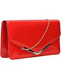 Amazon.co.uk: Red - Clutches / Women's Handbags: Shoes & Bags