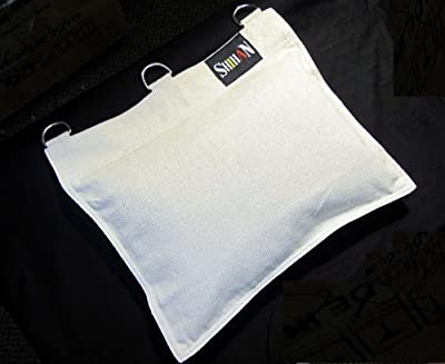 SAND WALL BAG Wing Chun WALL STRIKE BAG Canvas Wall Bag 1 Section - White produced by XTRAFITNESS - quick delivery from UK.