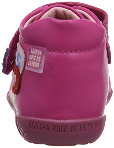 Agatha Ruiz De La Prada 141901, Bottes fille Rose (Fuchsia/Napa)