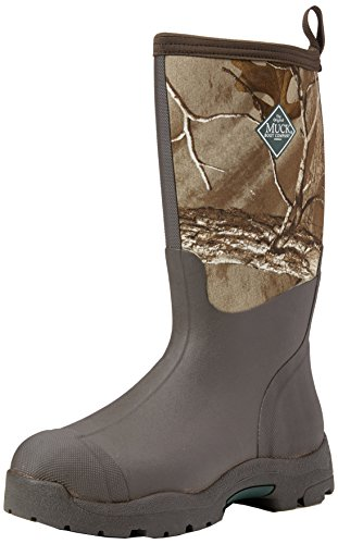Muck Boots Derwent II, Bottes et Bottines de Pluie Mixte Adulte, Gris, 30 EU Marron (Bark/ Real Tree Xtra)