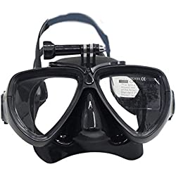 KEKJORY Type Sec et Anti-buée Snorkeling Masque Plaques Visage de Gel de silice
