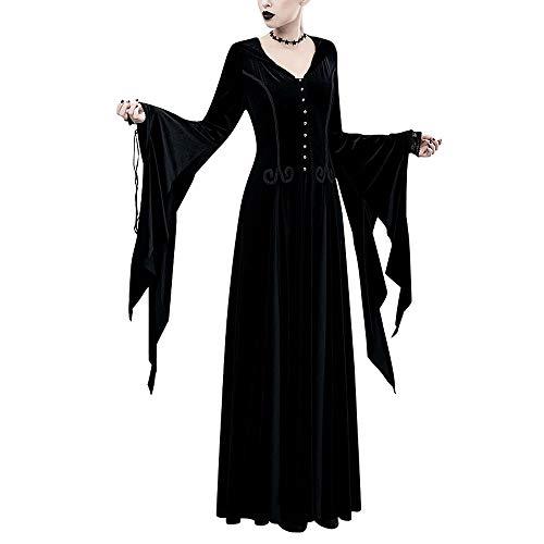 Frankreich Kostüm Weiblich - Luckskirt Mit Kapuze Kleid Halloween Cosplay Weibliche Gotische Kostüm