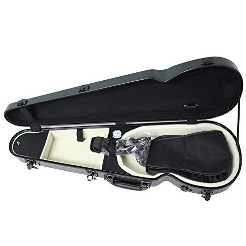BLKykll Custodia per Violino,Custodia per Violino 4/4,3/4,1/2,1/4,1/8 Nuovo in Fibra di Carbonio Fibra di Vetro,4/4