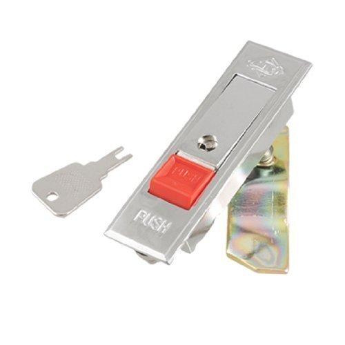 sourcingmap® Verchromte Typ Hardware Silber Schlüssel Tone Metall Flugzeug Cabinet Sperren W