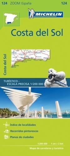 Costa del Sol Zoom Map 124 (Mapas Zoom Michelin) por Vv.Aa