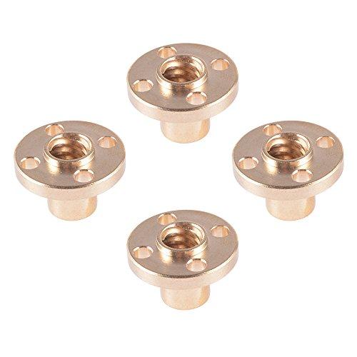 xcsourcer-4pcs-8mm-laton-brida-trapezoidal-4-start-plomo-tuerca-de-tornillo-para-la-impresora-3d-z-e