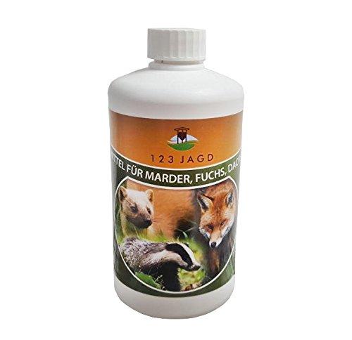 Platzhirsch Lockmittel Duftstoff für Marder Fuchs Marderhund Waschbär 500ml Test