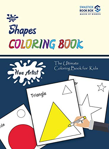 Hue Artist - Shapes Colouring Book