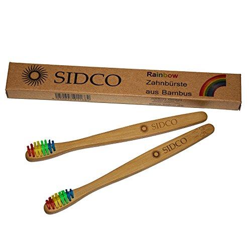 SIDCO Zahnbürste für Kinder - 3 Stück