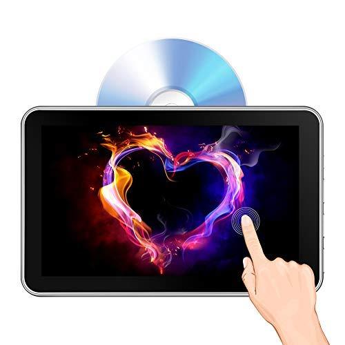 Lecteur DVD d'appui-tête 10,1', Lecteur DVD de Voiture pour Le Divertissement à l'arrière 1080P HD, écran Tactile, Disque Dur d'aspiration à Chargement...