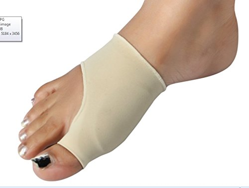 Sparsh 4.0 Bunion Protector Gel Sleeves For Bunion Pain Hallux Valgus Pain One Set For ONE FOOT