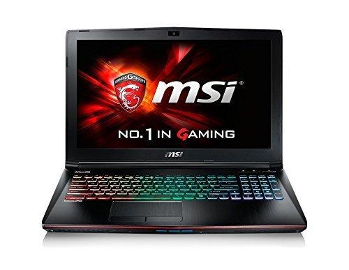 MSI GE62 6QD-816UK 15.6-Inch Apache Pro Gaming Laptop (Intel Core i7-6700HQ, 16 GB RAM, 1 TB HDD Plus 128 GB SSD, NVIDIA GeForce GTX 960M Graphics Card, Windows 10)