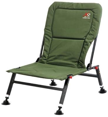 Anglerstuhl gepolstert Klappstuhl höhenverstellbar Karpfenstuhl Stuhl Campingstuhl