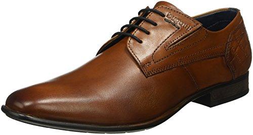 Bugatti Herren 311188011100 Derby, Braun (Cognac 6300), 45 EU