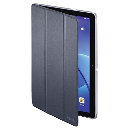 """Hama hama Pochette Tablet. \\Fold Clear\\ pr Huawei MediaPad T3 10 (9.6\\\""""), bl. fcé Federmäppchen 28 Centimeters Weiß (Blanc Foncé)"""