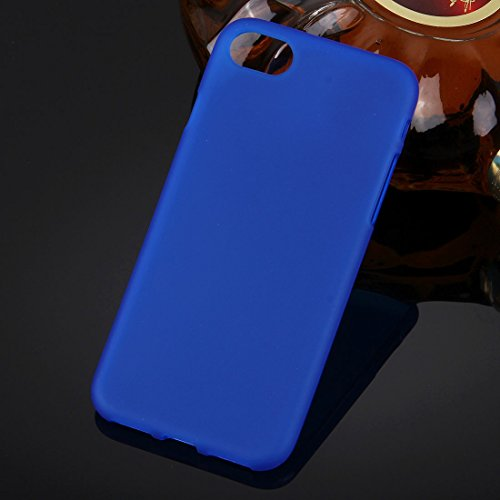 Original TheSmartGuard iPhone 6S-6 Hülle Silikon Case TPU Schutzhülle (4,7 Zoll) geeignet für iPhone 6 und iPhone 6s -- **NEU** 360°-Protection **NEU** -- in schwarz Blau