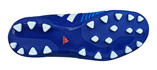 Adidas scarpe da calcio bambino Nitrocharge 3.0 AG J M29525 (white/solar blue2, EUR 35) white/solar blue2