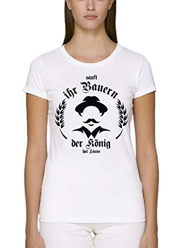 clothinx Damen T-Shirt Unisex Bio und Fair Sauft -