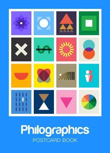 Philographics postcard book