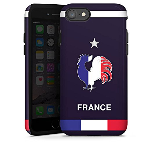 Apple iPhone X Silikon Hülle Case Schutzhülle trikot fussball fußball Tough Case glänzend