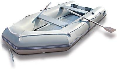 Jago - Bote neumático - Barco hinchable - Apto para 4 personas + 1 niño - aprox. 320 x 152 cm