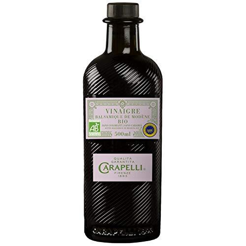 Carapelli - Aceto Balsamico Di Modena Bio 50Cl - Lot De 3 - Prezzo Per Lotto - Consegna Veloce