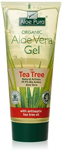 Aloe Pura Aloe Vera Gel Tea Tree 200Ml by Aloe Pura