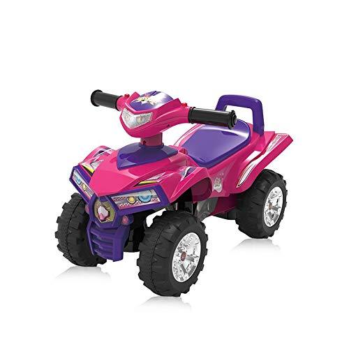 Chipolino Rutschauto ATV ab 12 Monate mit Musik- und Lichtfunktion, Quad Design pink