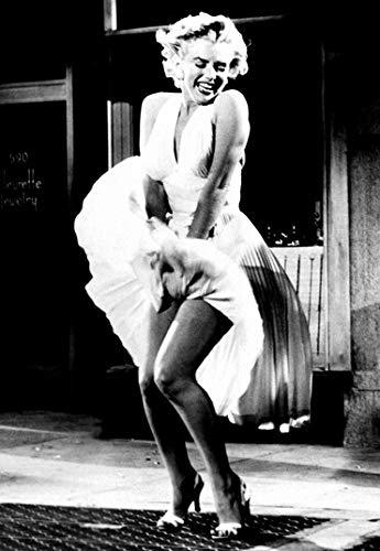 XWArtpic Klassische Hollywood Film Shawshank Redemption Marilyn Monroe Frau HD Retro Poster Wohnkultur wandkunst Bild leinwand malerei 60 * 80 cm L