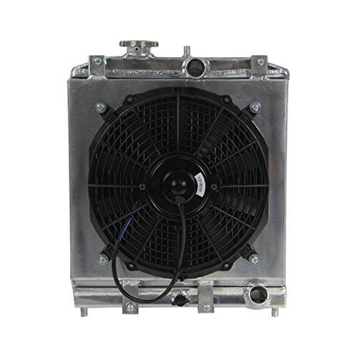 primecooling Full Radiatore in alluminio w/sudario + Ventola (12cm di