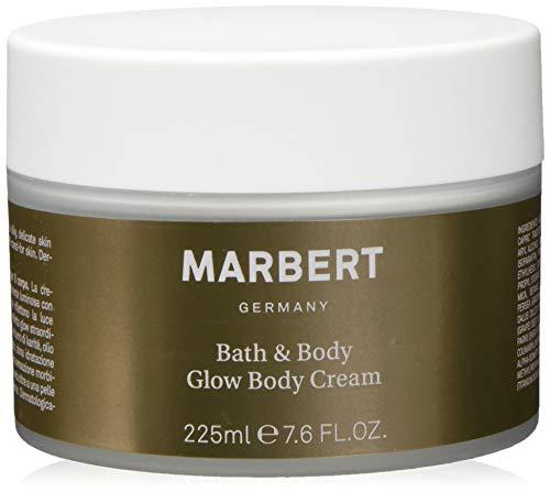 Marbert Bath & Body Glow Cream - Körpercreme, 2er Pack (2 x 225 ml) -