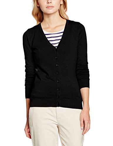 NIZZIN Damen Strickjacke Lily, Gr. X-Large, Black