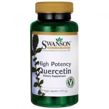 Swanson High Potency Quercetin (475mg, 60 Vegetarian Capsules)