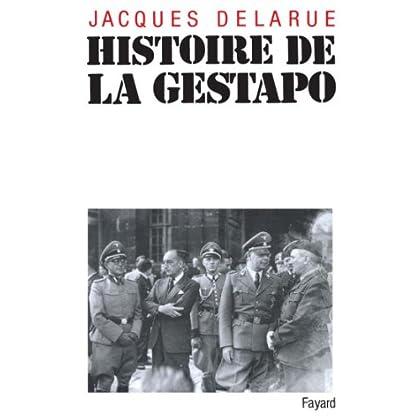 Histoire de la Gestapo (Histoire Contemporaine)