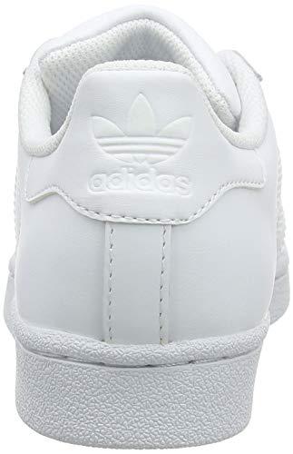 reputable site 0d3fd 63bc7 adidas Originals Superstar BB2872, Sneakers Unisex - Bambini, Bianco (Ftwr  White Ftwr White Ftwr White), 38 2 3 EU