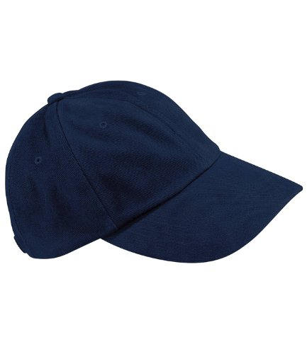Kostüm Street Gang - Beechfield Low Profile Heavy Cotton Drill Cap, navy