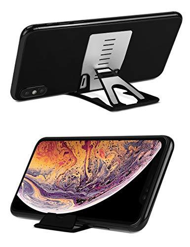 iMangoo Multi Winkel Tablet Dock Verstellbare Faltbare Cradle Portable Mini Tischständer Smartphone Ständer Halter Kompatibel mit iPhone X Xs Max iPad Mini Samsung Galaxy Note 9 S10 Plus OnePlus 6T