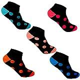 Lot de 12/6 Libella Coton/Bambou Thermo Sneaker Chaussettes pour Femme EDS92228