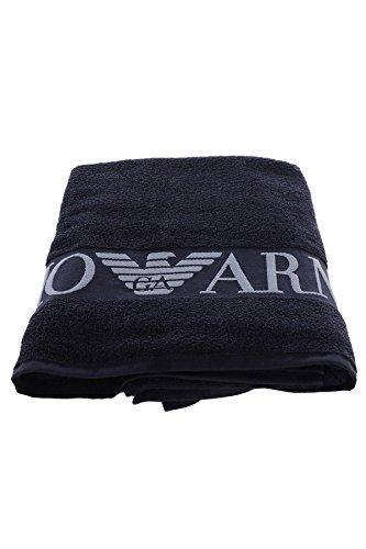 emporio-armani-drap-de-bain-logo-jacquard-marine-tu