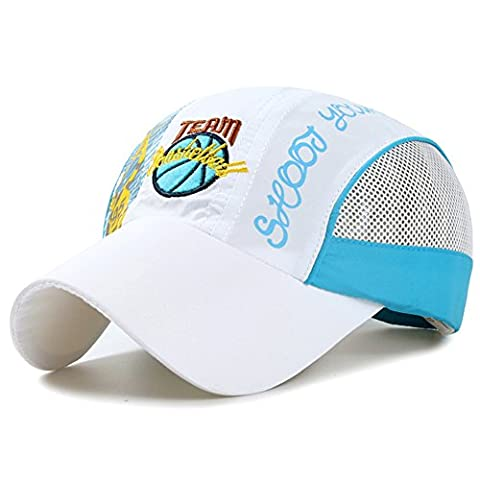 Boys Quick Dry Sun Hat - Children Breathable Lightweight Mesh