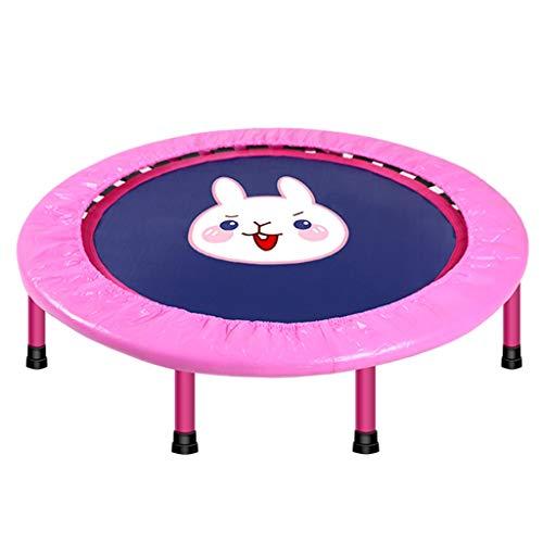 XYWLYLHOME Innentrampolin FüR Kinder Elastisches Seil FüR Elastisches Seil Faltbares Tragbares Trampolin Mini-Trampolin - Kann 120 Kg Standhalten